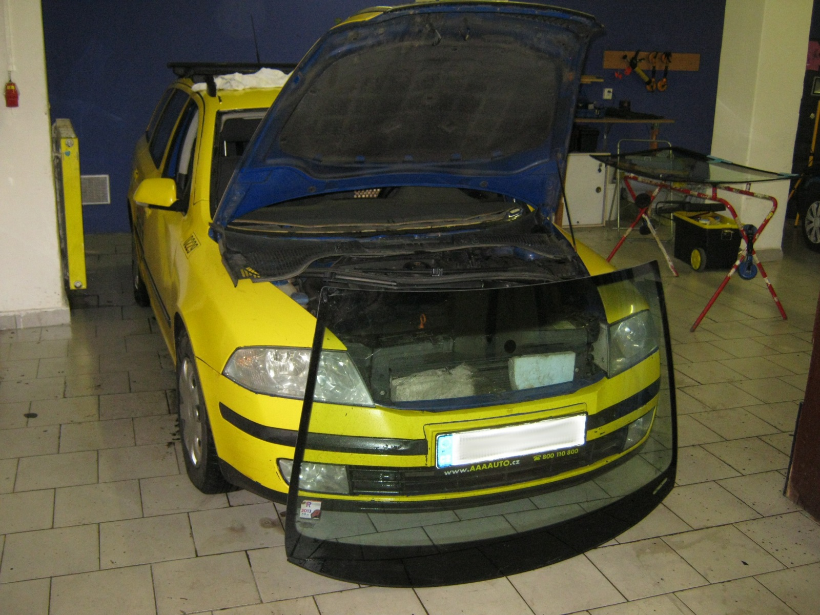 opravy autoskel